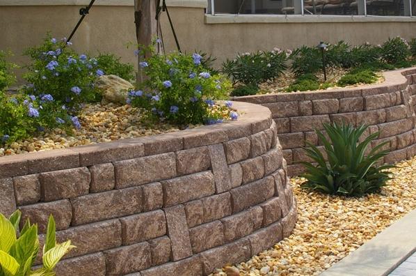 Decorative Stone Retaining Wall : Decorative stone walls fabulous wall
