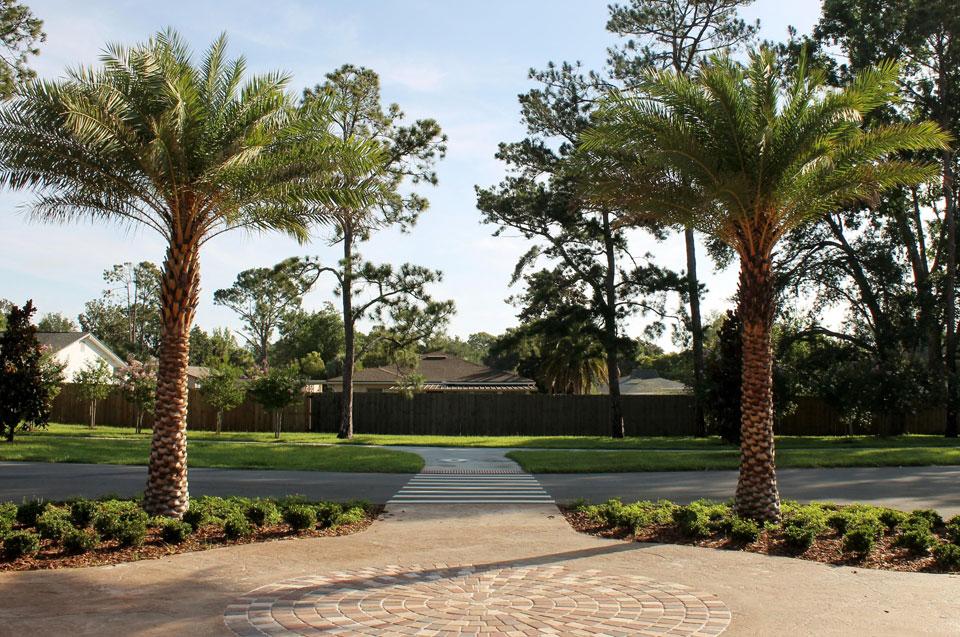 Palm Coast Commercial Landscape