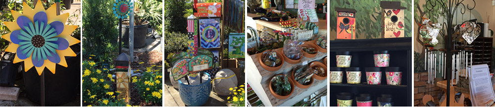 Stop By And See All The Beautiful Garden Accents Available At The Garden  Center. Check Out The Kaleidoscope Flowers, Garden Pole Art, Garden Signs,  ...