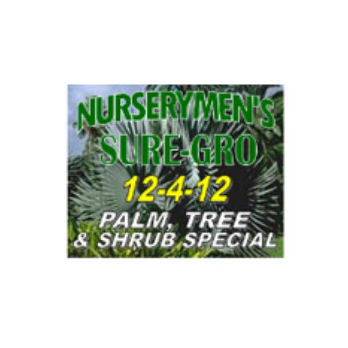 nurserymen sure gro 12 4 12 palms trees and shrub special verdego