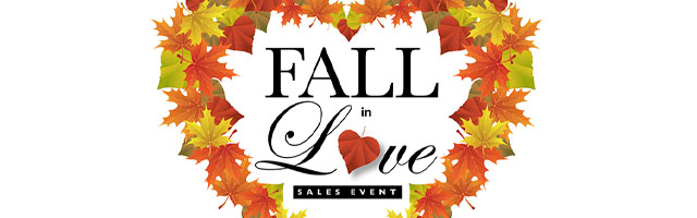 Fall in Love Sales Event Featured Image